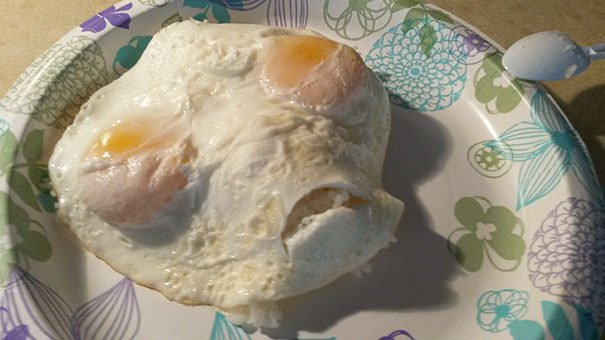 My Eggs With Rice This Morning