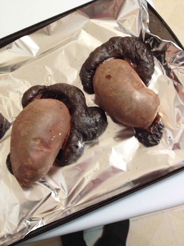 I Cooked The Sh*t Out Of These Sweet Potatoes