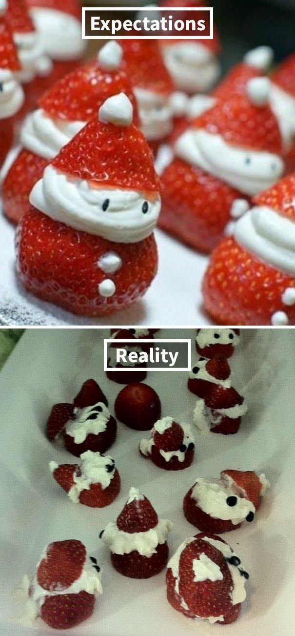 Strawberry Snowmen Fail