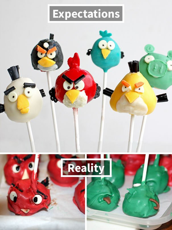 Angry Bird Cake Pop Poops