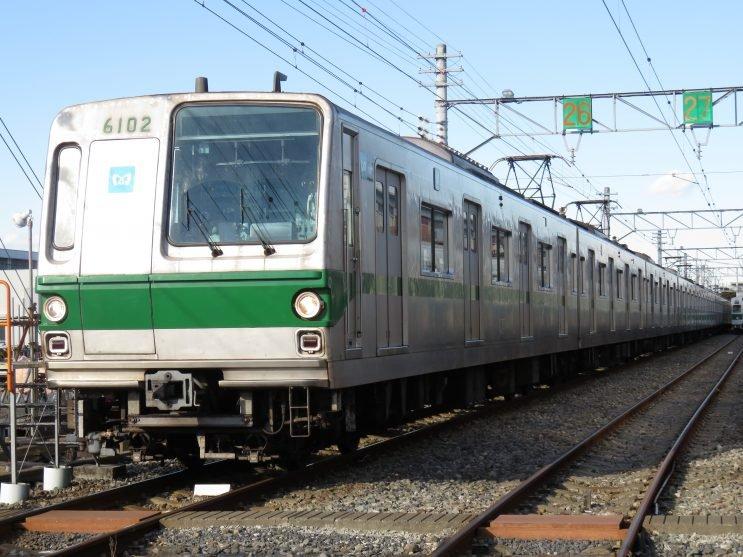 「引退ラストラン 千代田線 6000系」の画像検索結果