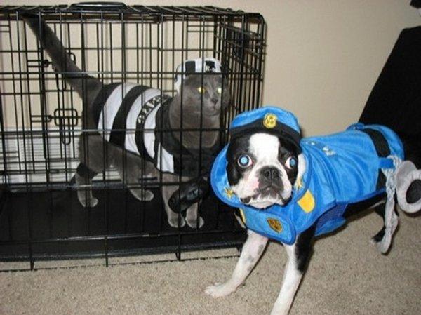 policier prisonnier