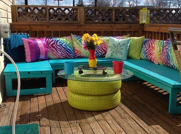 Garden Tire Table