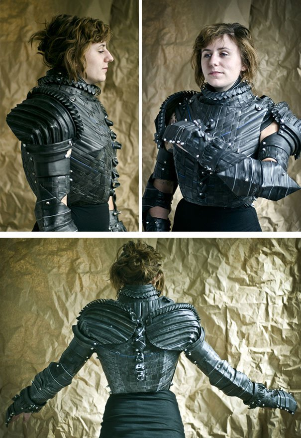 Shredded Tire Armor