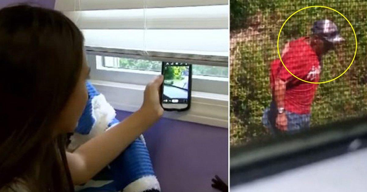 agga 1.jpg?resize=412,232 - Une jeune fille de 12 ans aide la police à attraper un criminel qui tentait de s'introduire chez elle