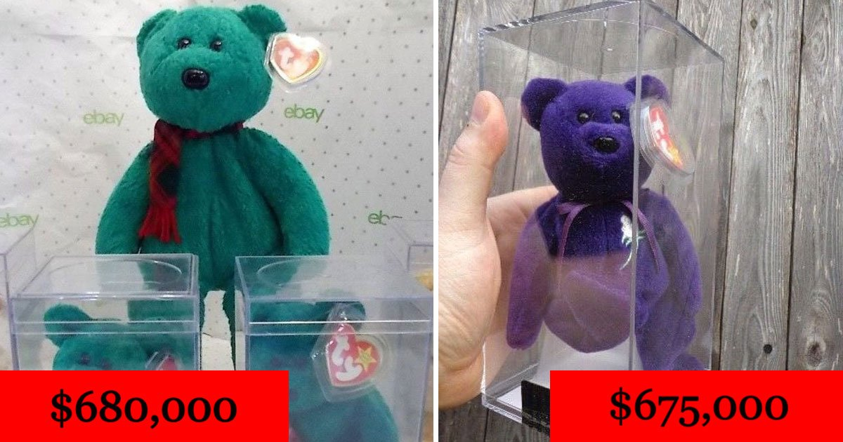 beanie babies.jpg?resize=412,232 - 10 Beanie Babies That Will Cost You A Fortune