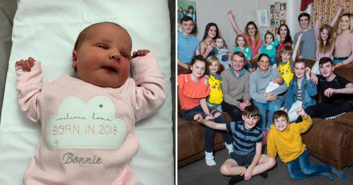 bonnie6.png?resize=1200,630 - Supermaman Sue Radford célèbre la naissance de son 21ème bébé