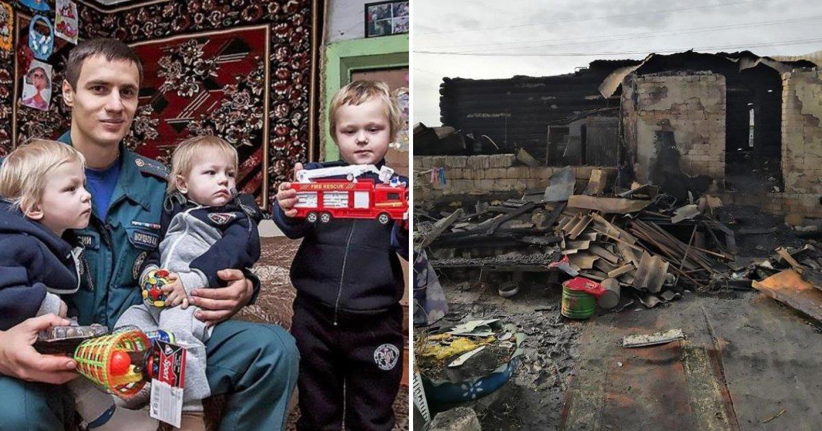 boys3.png?resize=412,232 - Trois frères tués dans un incendie à la maison alors que leur mère était sortie rendre visite à un ami.