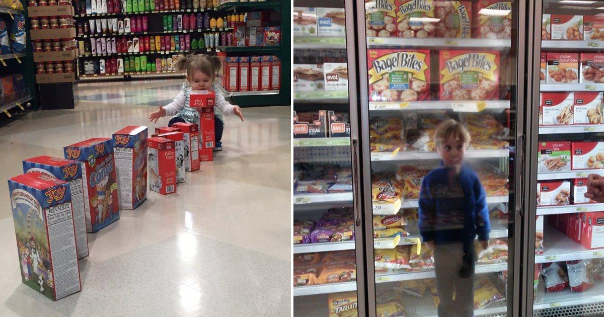 capa 1d.jpg?resize=1200,630 - 25 Fotos que comprovam que ir às compras com crianças é uma missão impossível