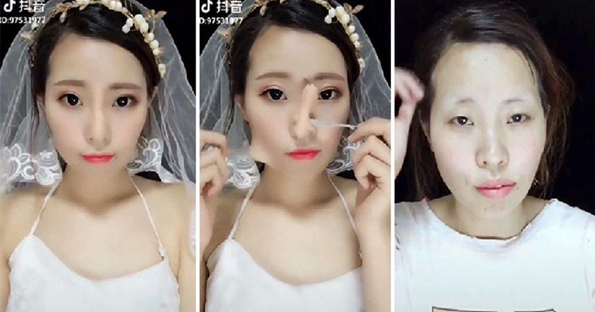 capa11 1.jpg?resize=1200,630 - Coisa de mestre! 18 Asiáticas mostrando a diferença que a maquiagem faz