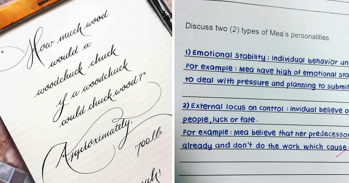 capa24 2.jpg?resize=1200,630 - 22 Vezes em que pessoas encontraram as caligrafias mais perfeitas