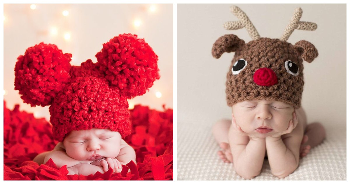 christmas 4.jpg?resize=1200,630 - 17 Adorable Newborns That Are Celebrating Their First Ever Christmas
