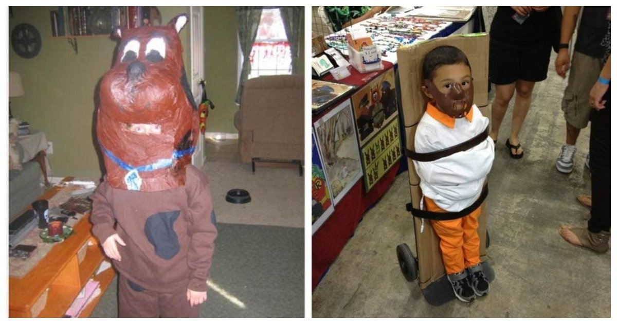 costumes.jpg?resize=1200,630 - 23 Parents Who Failed at Creating Their Kids Halloween Costumes