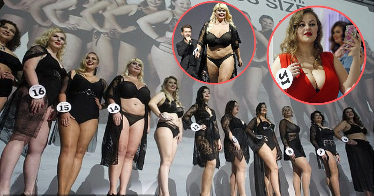 d5 1.png?resize=412,275 - 22 Plus-Size Beauties In Their Gowns And Attractive Lingerie Sets Competed For The Crown