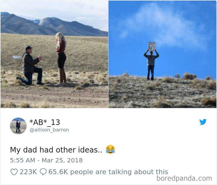 My Dad Had Other Ideas..
