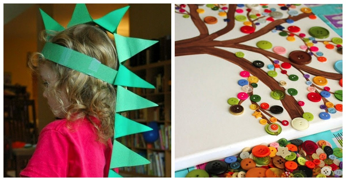 diy crafts.jpg?resize=1200,630 - 22 Awesome DIY Projects For Your Kids. #8 Will Change Movie Nights Forever