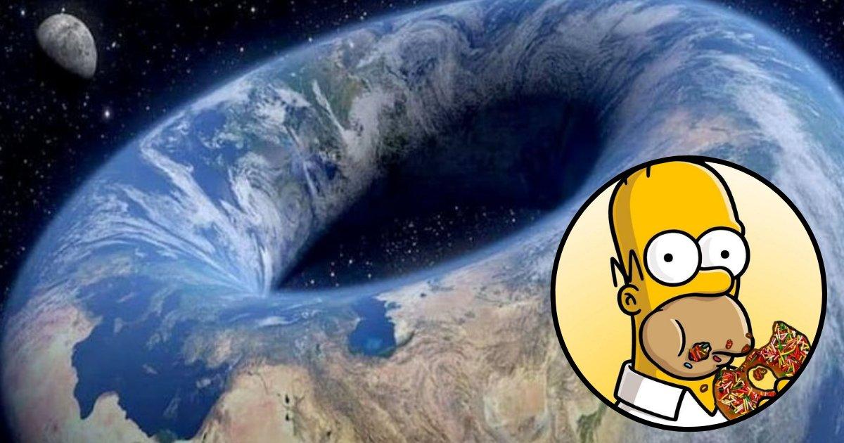donut4.png?resize=300,169 - Les partisans de la théorie de la Terre plate ont une nouvelle théorie - la planète est un «beignet terrestre»