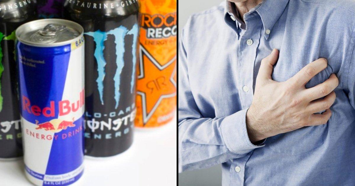 drink5.png?resize=1200,630 - Boire une seule boisson énergisante peut réduire les vaisseaux sanguins en 90 minutes, ce qui augmente le risque de crises cardiaques