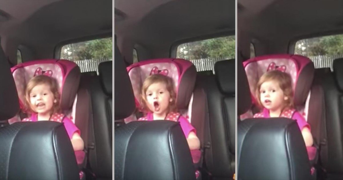 featured image 18.jpg?resize=574,582 - 3-Year-Old Sings Bohemian Rhapsody In Car – And It's The Most Adorable Thing Ever