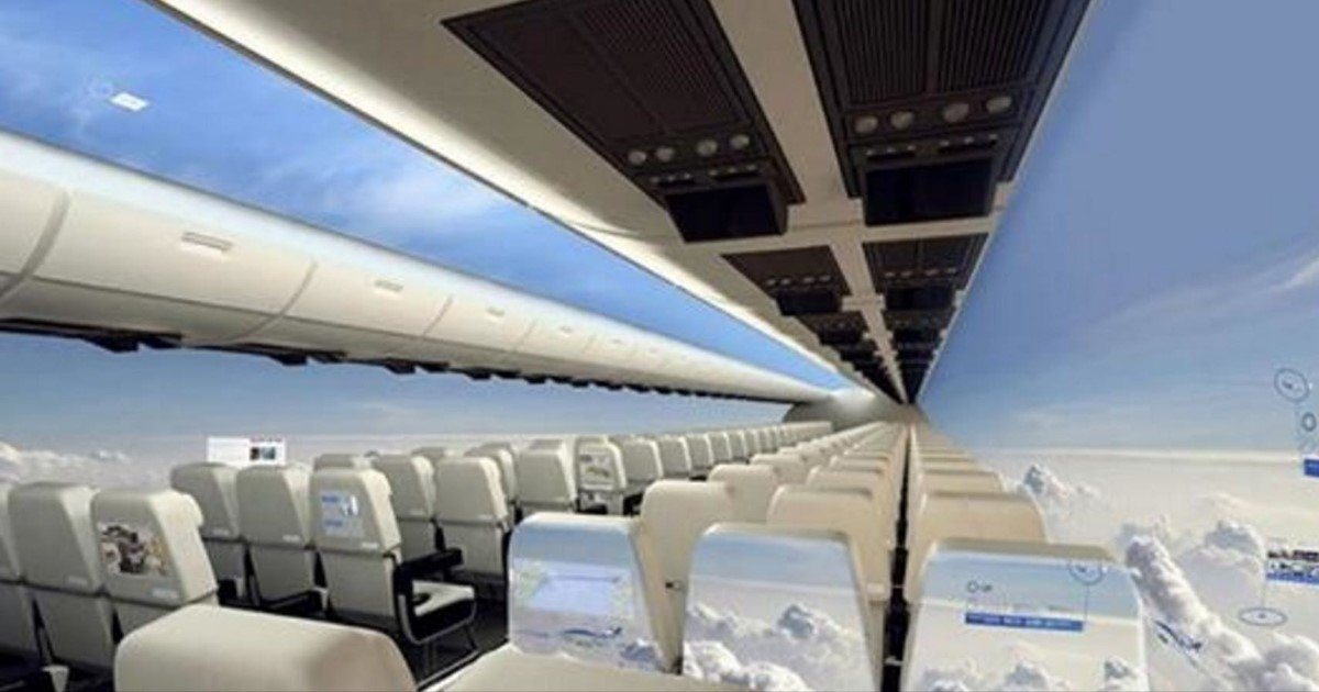 featured image 7.jpg?resize=412,275 - The Future Of Air Travel: Windowless Planes By 2030