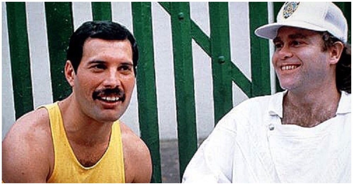 freddie 1.jpg?resize=1200,630 - This Touching Story That Elton John Shared About Freddie Mercury's Final Days Might Make You Cry