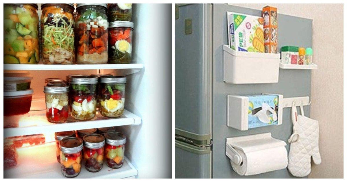 fridge 1.jpg?resize=1200,630 - 35+ Creative Ways To Organize Your Fridge