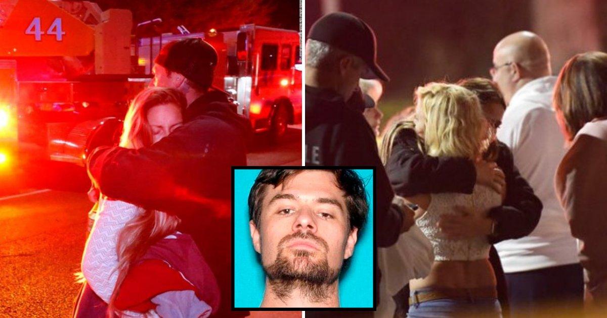 gunman3.png?resize=412,232 - Thousand Oaks Bar Patrons Ran In Fear As Gunman Killed 12 Using .45-Caliber Glock 21 And Smoke Grenades