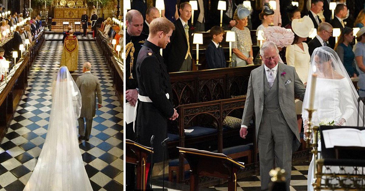 """harry charles meghan.jpg?resize=412,232 - 'I Asked Him And He Said """"I'll Do Whatever Meghan Needs""""', Prince Harry Talks About How He Asked His Father To Walk Meghan Down The Aisle"""