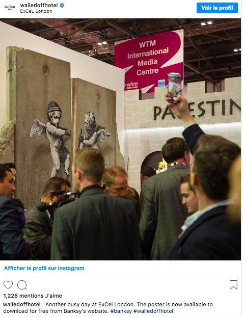 img 5be33e71725a6.png?resize=1200,630 - Banksy a créé une nouvelle pièce pour promouvoir les voyages en Palestine