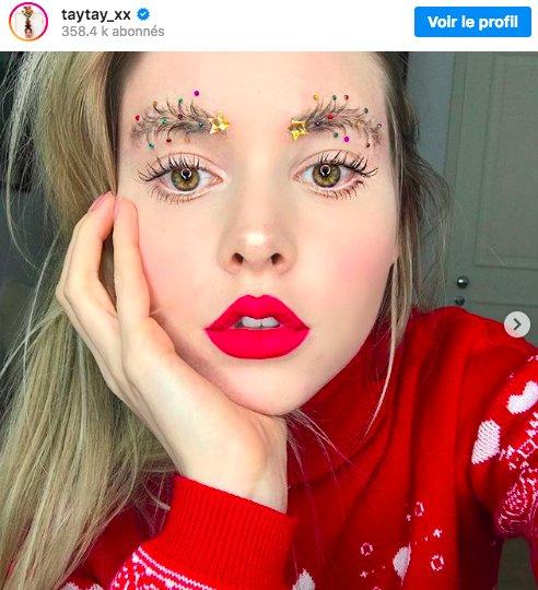 img 5bfed11c3a127.png?resize=412,232 - En 2018 on décore ses sourcils pour Noël ...