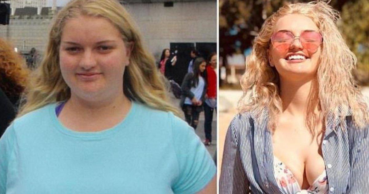 josie7.png?resize=1200,630 - Une étudiante perd 63 kilos en 12 mois et révèle le principal facteur de sa perte de poids