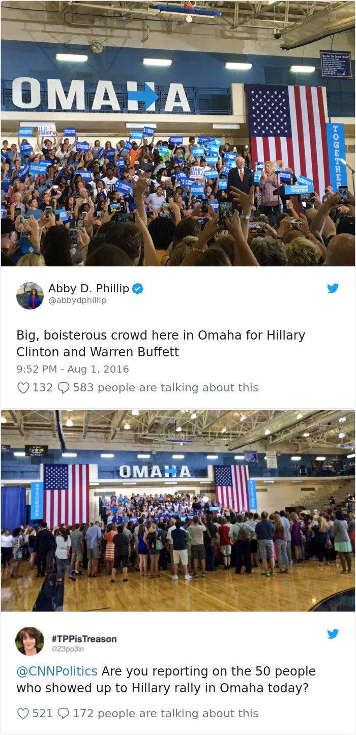 Hillary Rally à l'Omaha