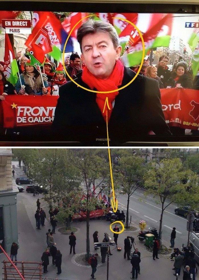 Manifestation fiscale à Paris