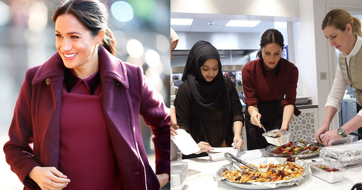 meghan markle made a return visit to hubb community kitchen in north kensington west london.jpg?resize=300,169 - Meghan Markle Made A Return Visit To Hubb Community Kitchen In North Kensington, West London