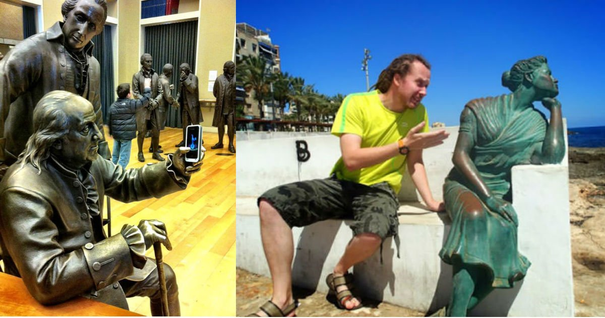 new thumbnail.jpg?resize=412,232 - 35+ Times People Took Posing With Sculptures To Another Level