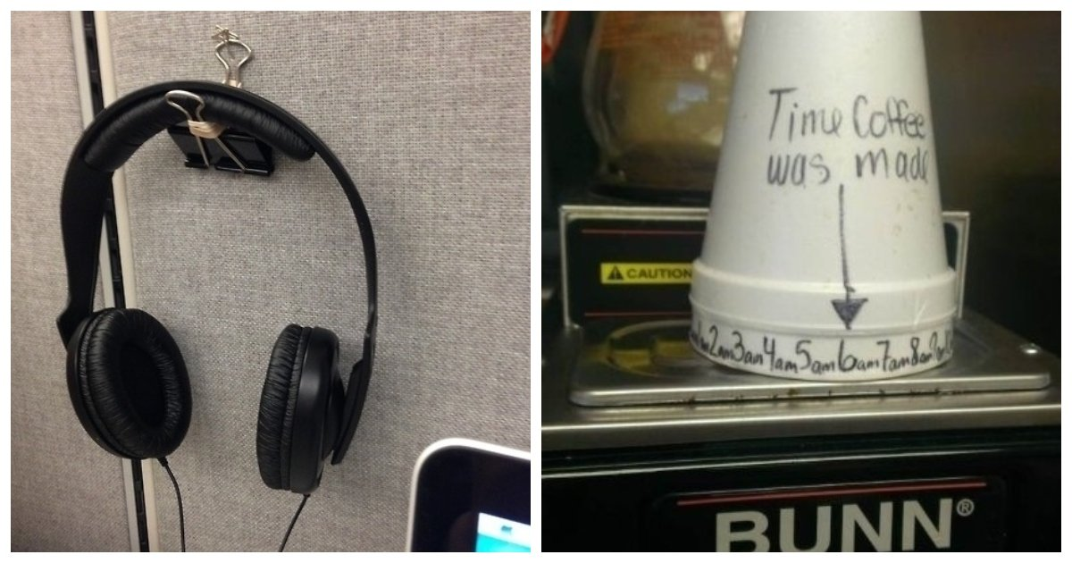 officehacks1.jpg?resize=1200,630 - 23 Office Hacks That'll Make Your Boss Think You're A Genius.