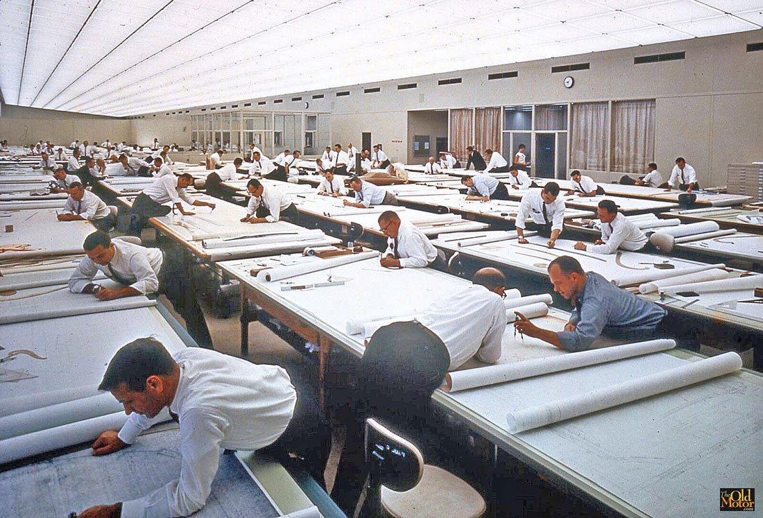 photos vintage informatique autocad ingenieur architecte 152.jpg?resize=1200,630 - [Photos] Comment l'informatique a profondément transformé le travail d'architecte.