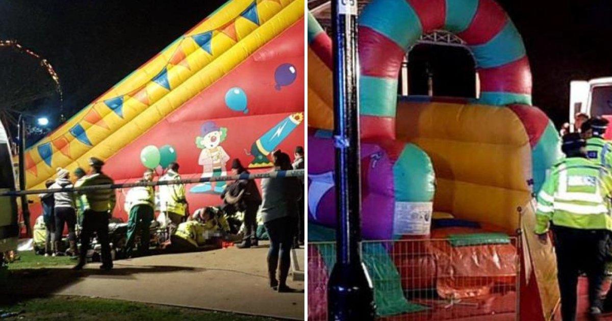 slide6.png?resize=412,232 - Le toboggan gonflable géant s'est effondré lors du feu d'artifice à une fête foraine, blessant huit enfants