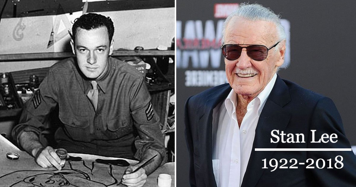 stan lee.jpg?resize=636,358 - Co-Founder Of Marvel Comics Stan Lee Passes Away Aged 95
