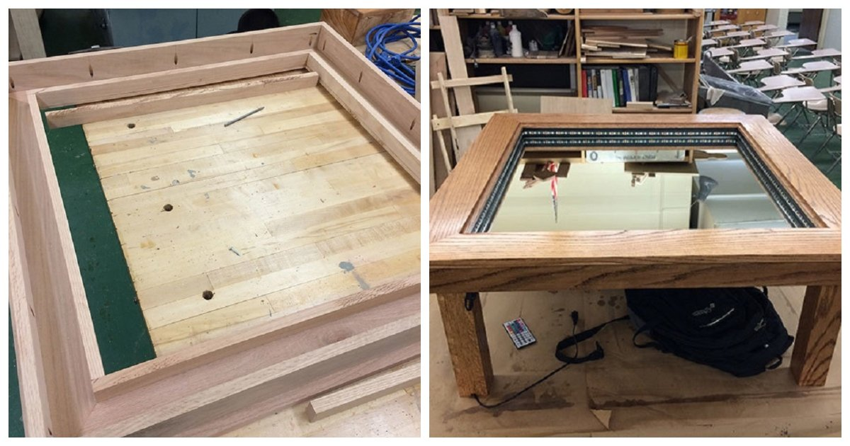 table.jpg?resize=1200,630 - This 15-Year-Old's Woodworking Project Impressed DIYers Worldwide And Here's Why