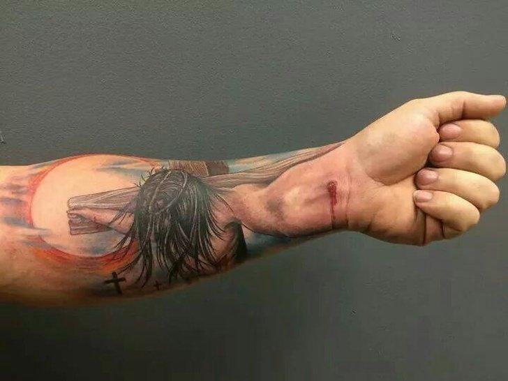 tatouages 3d 027.jpg?resize=1200,630 - Ces 34 tatouages oscillent entre superbe et mauvais goût