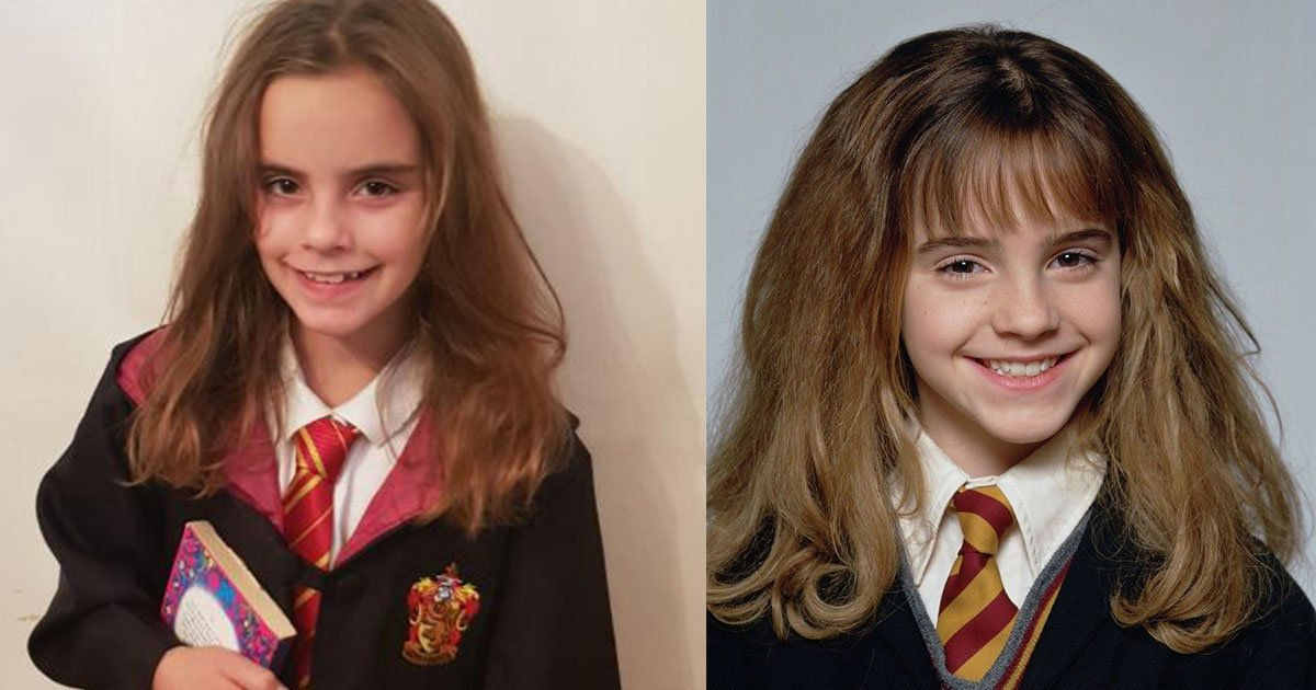 this little girl looks so much like young hermione granger from harry potter.jpg?resize=412,232 - This Little Girl Looks So Much Like Young Hermione Granger From Harry Potter