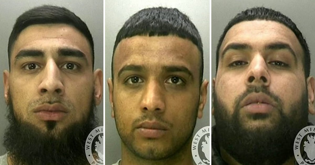 thugs.png?resize=412,232 - Three Thugs Who Attacked A Mother And Son With A MACHETE Are Jailed For A Total Of 43 Years