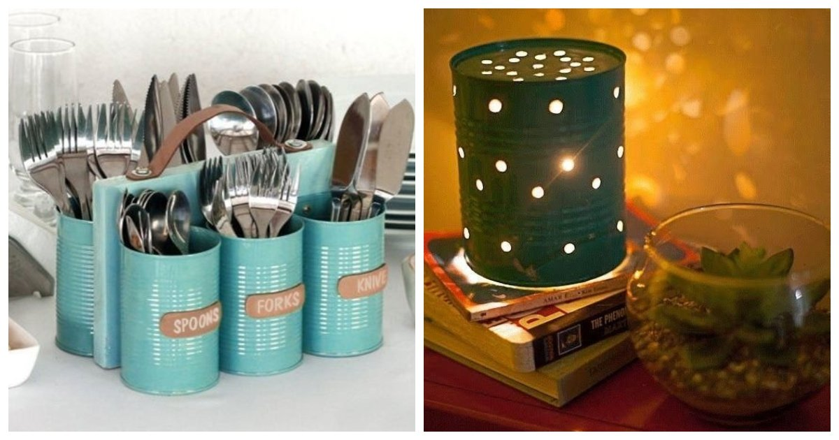tin.jpg?resize=412,232 - 20 Creative DIY Projects For Tin Cans… #4 Is The Best Garden Ornament Ever