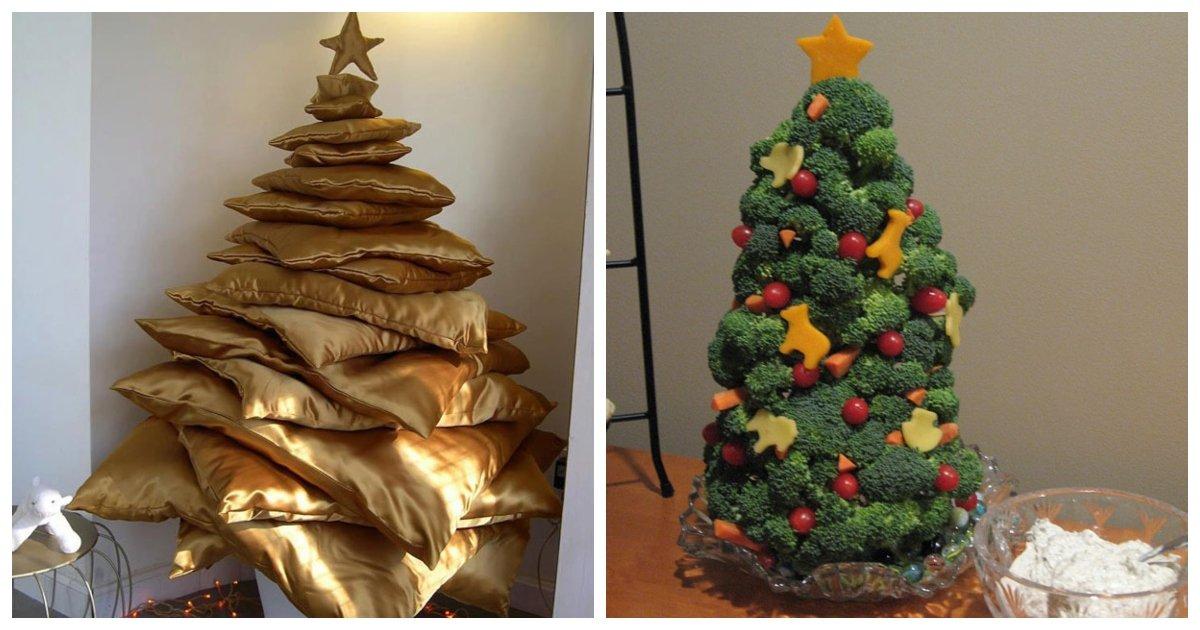 22 Creative Diy Christmas Tree Ideas Small Joys
