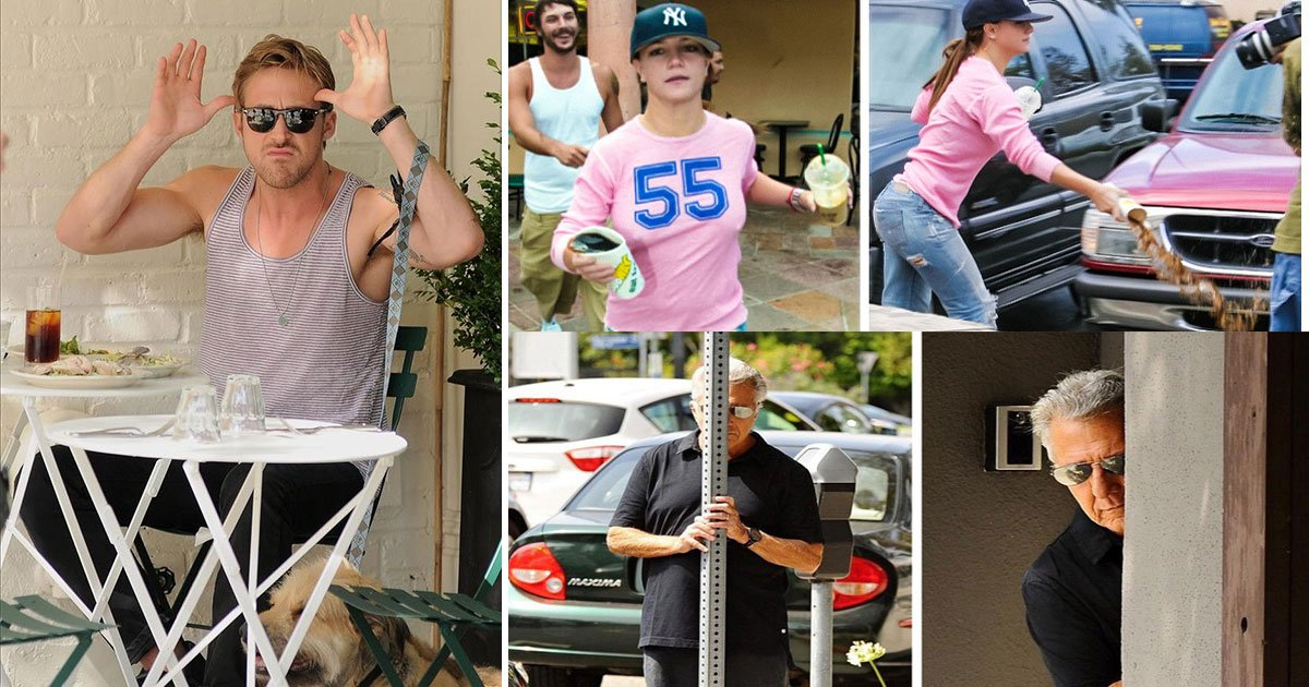 untitled 1 99.jpg?resize=1200,630 - Hilarious Celebrity Reactions To Paparazzi Who Follow Them Everywhere