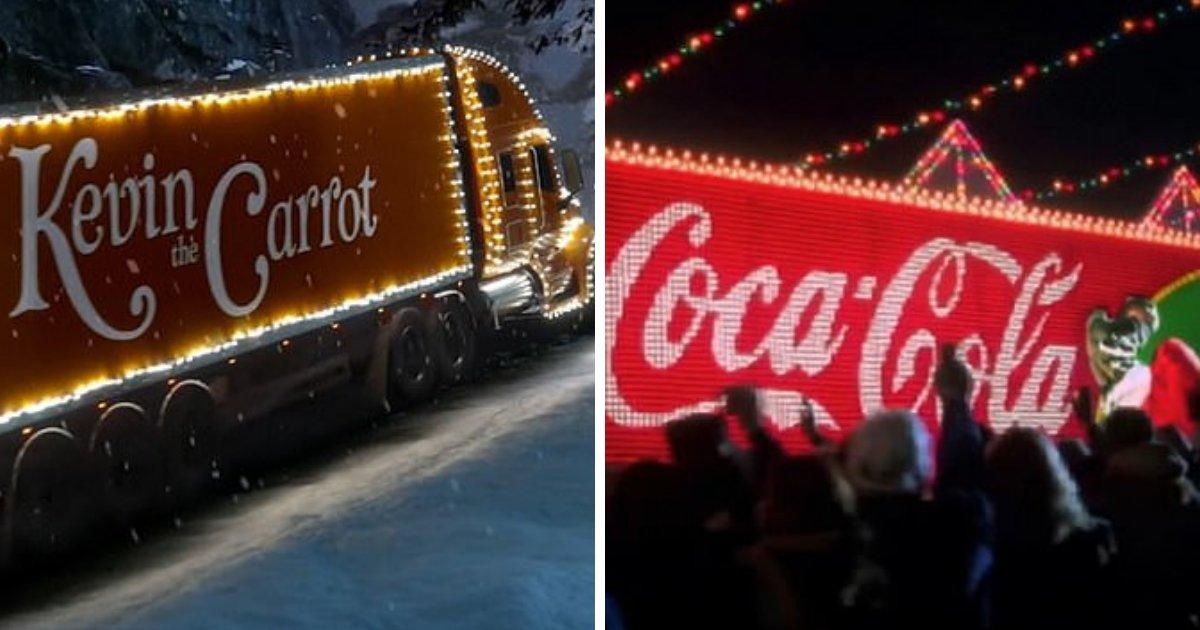 untitled design 60.png?resize=1200,630 - Aldi copie le camion rouge emblématique de Coca-Cola dans une publicité parodique de Noël, les Fans de Coca-Cola sont bouleversés par l'idée