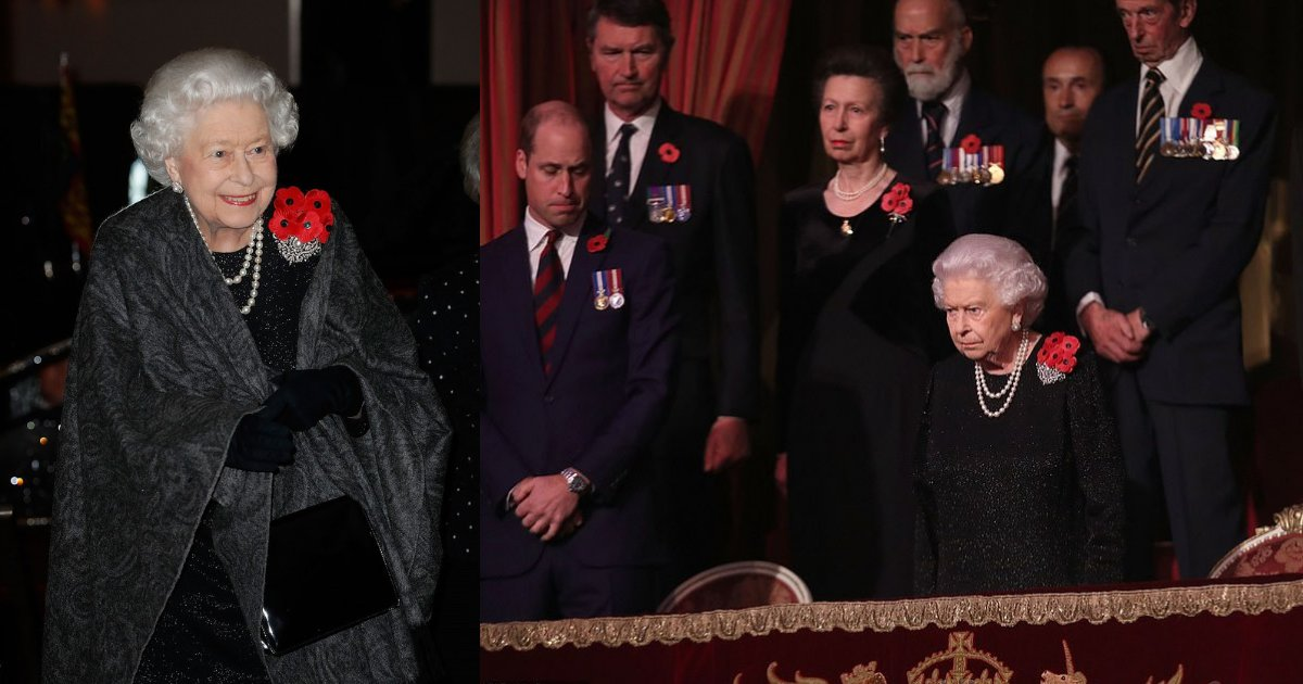 untitled design 91.png?resize=412,232 - The Royals Remember! The Queen Joined By Prince Charles And William During Festival Of Remembrance