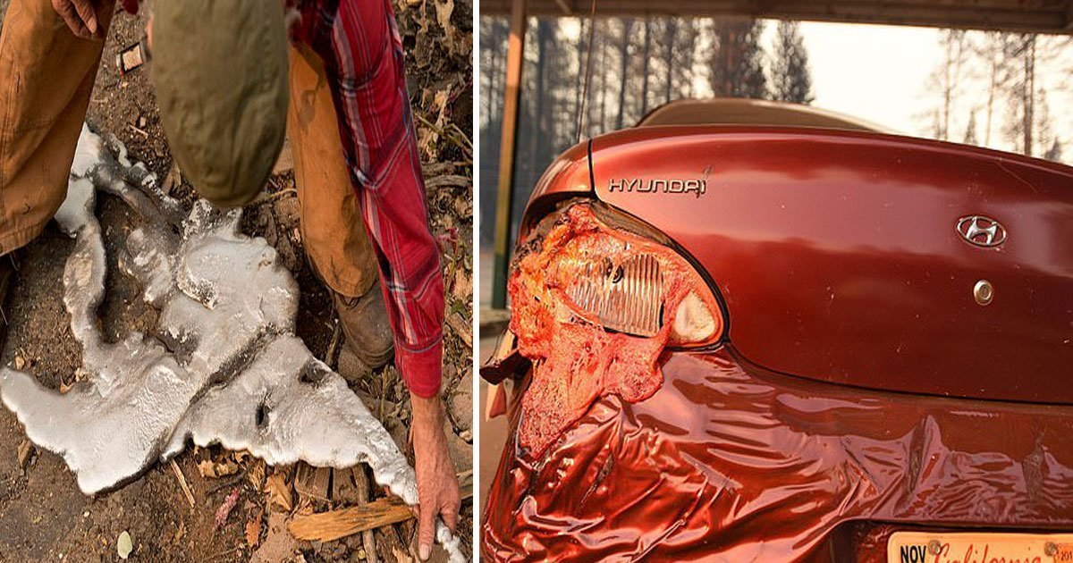 wildfire.jpg?resize=412,232 - California Wildfires Turned Cars Into Liquid