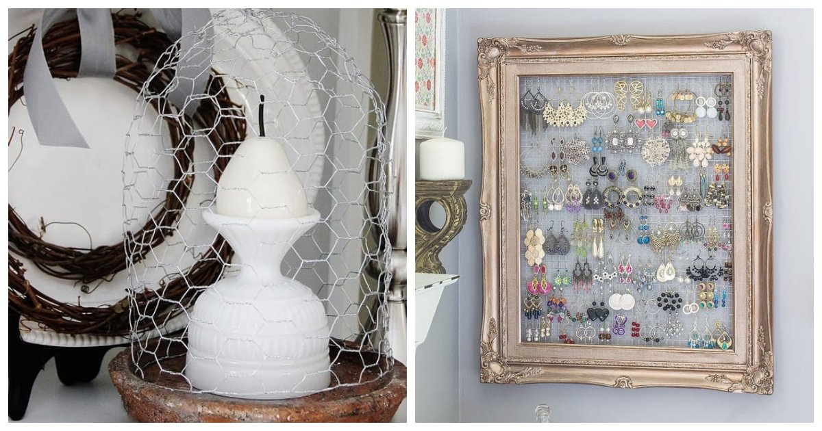 wire.jpg?resize=412,232 - 20 DIY Chicken Wire Crafts That Cost Pennies To Make